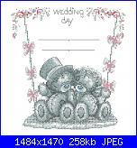 Cerco lo schema tatty teddy-big heart-tatty-teddy-wedding-sampler1-jpg