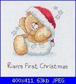 """forever friends Primo Natale - """"Babys 1st Christmas"""" - FRC104-frc104-jpg"""