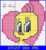disegni x bavette di 30 punti-twetty-x-jpg