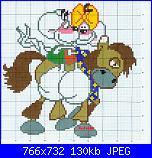 Diddl sul cavallo-punto_croce_diddl-jpg