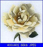 Cerco schema DMC - Isabelle Bard - Yellow Rose  bk601-bk601-jpg