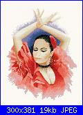 """Flamenco"" Lanarte!+ aiuto legenda colori-flamenco-dancer-cross-stitch-kit-pmfd908-jpg"