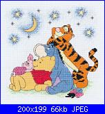 """Schema """"Pooh and The Gang""""-dppf029_m-jpg"""