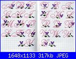 Asciugamani floreali-alfabeto-violette1b-jpg