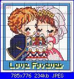 Schema per quadretto matrimonio-136772608-jpg