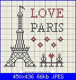 """Consiglio per scritta stile """"Pirata"""" e """"Parigi""""-amo-parigi-punto-croce-jpg"""
