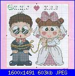 Schema per quadretto matrimonio-legati_x_amore-jpg