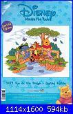 Winnie The Pooh - Disney D177-Fun on the bridge-1-jpg