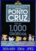 cerco Almanaque Ponto Cruz - 1000 gráficos-1-jpg