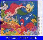 Principesse Disney-ariel-schemi-punto-croce-jpg