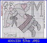 """Alfabeto """" ABC Angel Afghan""""-letter-m-jj-pic-jpg"""