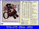 """Alfabeto """" ABC Angel Afghan""""-letter-o-jj-pat-jpg"""