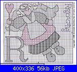 """Alfabeto """" ABC Angel Afghan""""-letter-r-jj-pat-jpg"""