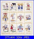 Schema della Vergine dell'Oroscopo + alfabeto Bimbi All Our Yesterdays - AOY-segni_zodiacali_1-jpg