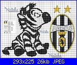 zebra e stemma juventus di natalia-1591170m-jpg