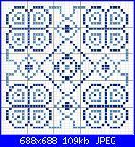 Ho provato ... e mi sembra di esserci riuscita!! Schemi per biscornu-geom-quadrato-azzurro-e-blu-jpg