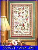 Cerco sampler alfabeto natalizio di Vermillion in risoluzione migliore-vermillion-stitchery-christmas-alphabet-jpg