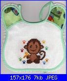aiuto scimmietta-bavaglino-scimmia-piccolo-jpg