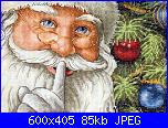 Schema  Dimensions 08799 - Santa's Secret-sal-babbo-natale-punto-croce-l-ljwfna-jpeg