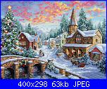 gold collection dimensions Holiday Village-dim8783-jpg