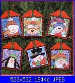 avete questi schemi? - Dimensions - Christmas Pals Ornaments-5m-d-jpg
