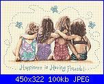 Cerco Dimensions 35241 - Happiness is Having Friends!-friends-jpg