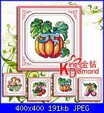 Creazione schema quadretto verdure-fj421-jpg