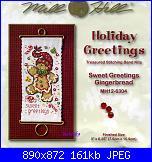 Schema Gingerbread - Ursula Michael-mill-hill-mh12-6304-sweet-greetings-gingerbread-1-jpg