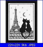 Schema gattini sul tetto-gatti-e-torre-eiffel-jpg