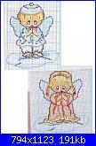 cerco schema angeli per bomboniera-angioletti-natale-punto-croce-jpg