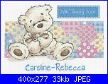 cerco Lickle Ted-bl769my-first-lickle-ted-patchwork-sampler-pic-jpg