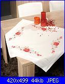 cerco schema tovaglie-tablecloth-roses-vervaco-pn_0145084-jpg