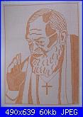 Cerco questo schema monocolore di Padre Pio-s8001750-jpg