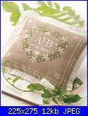 Cuscinetto portafedi con margherite-cuscino-per-fedi-dmc-foto-jpg