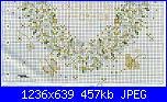 Cuscinetto portafedi con margherite-schema-2-jpg
