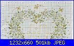 Cuscinetto portafedi con margherite-schema-1-jpg