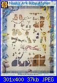 arca di noè-graphworks-book-35-noah%5Cs-ark-baby-afghan-pic-jpg