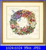 Dimensions 35040 - Wreath of All Seasons - cerco-35040-wreath-all-seasons-jpg
