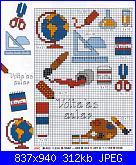 schemi margherite punto croce e alfabeto corsivo grande-122-jpg