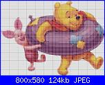 "Pooh e Piglet al mare - ""pooh piglet swimming tube""-pooh-mare-schema-jpg"