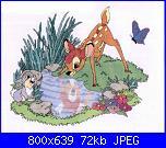 Cerco schema punto croce di bambi-bambi-jpg