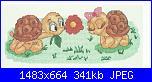 Schema tartarughe sposine-scan-tartarughe-amore0001-jpg