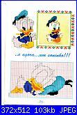 Cerco schemi con personaggi Disney per lenzuolino-baby-disney-paperino-dorme-01-jpg