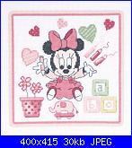 Cerco schema  Baby Minnie - DMC- BL908/70-schema-jpg