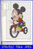 Schema personaggio Disney su triciclo-13-jpg