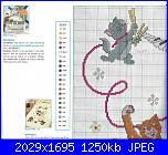 Coordinato Aristogatti: Coperta, paracolpi, lenzuolino, cuscino-escanear0024-jpg