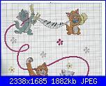 Coordinato Aristogatti: Coperta, paracolpi, lenzuolino, cuscino-escanear0023-jpg