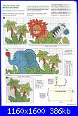 Lenzuolini animali della giungla-leone-elefante-jpg
