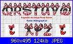 Alfabeto Topolina / Topolino, Minnie / Mickey-6-jpg