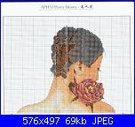 "legenda colori schema DMC ""APH 33 peony beauty dmc ""-peony-beauty-01-jpg"